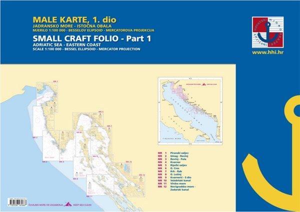 Male Karte 1 Namorni Mapy Chorvatska